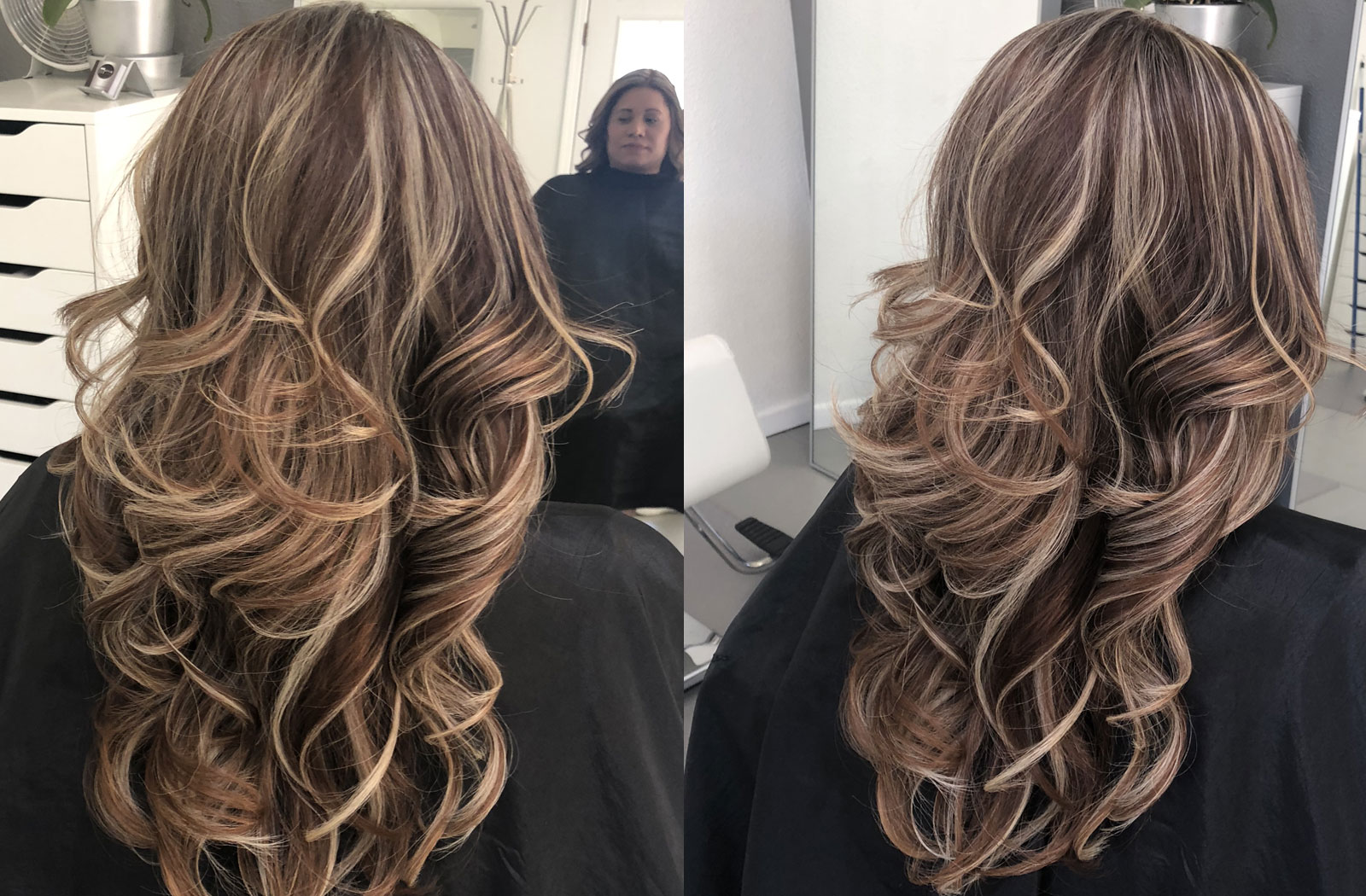 Hair Highlights Mannys Styles Salon